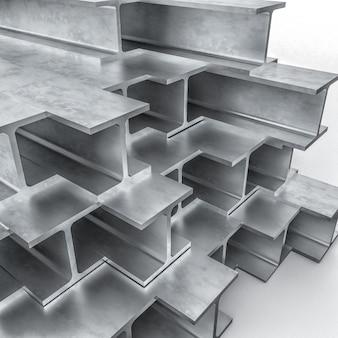 Metallträger 3d