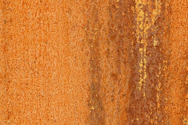 Metallwand mit rost. metallkorrosion. foto in hoher qualität