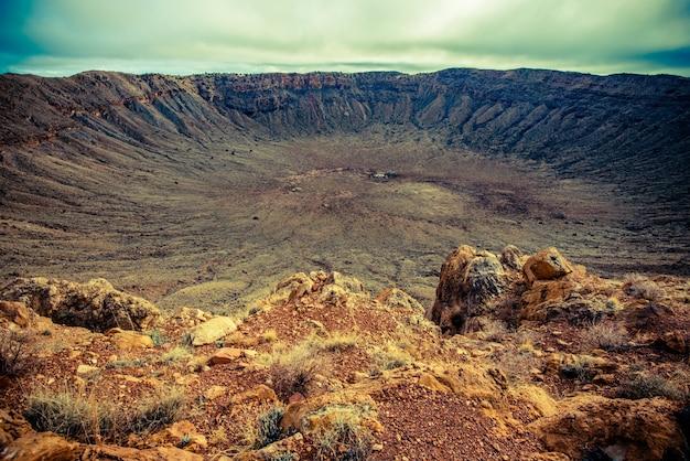 Meteor krater arizona