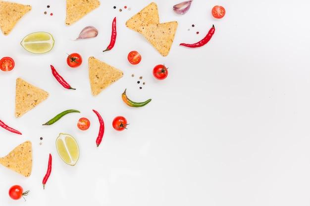 Mexican food zubereitung kochkonzept
