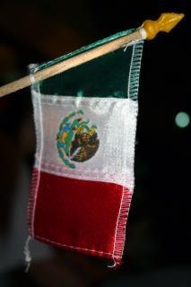 Mexikanische flagge, mexian