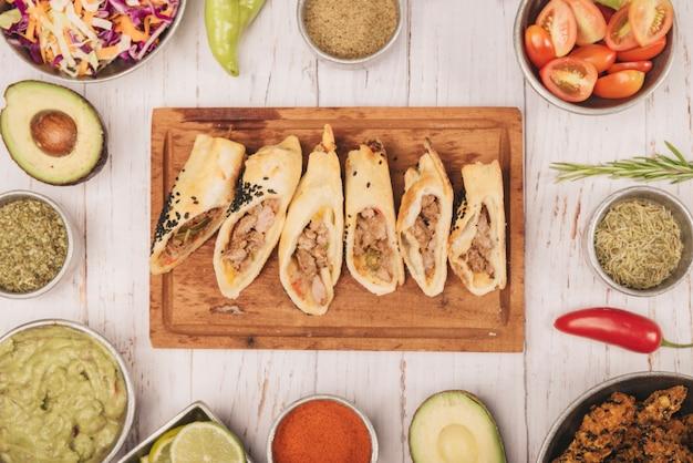 Mexikanische nahrung
