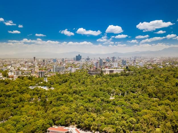 Mexiko-stadt - chapultepec-skyline