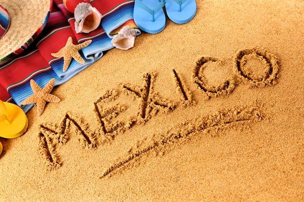 Mexiko strand schreiben
