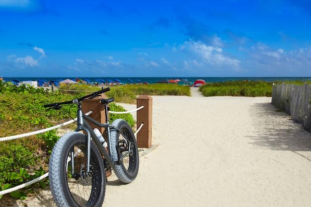 Miami south beach eingang florida us