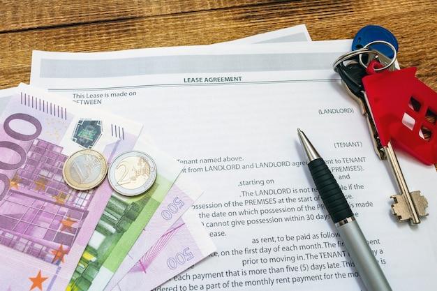 Mietvertrag für wohneigentum immobilienmietvertrag