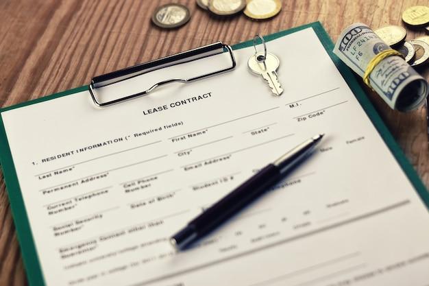 Mietvertrag schlüsselgeldstift