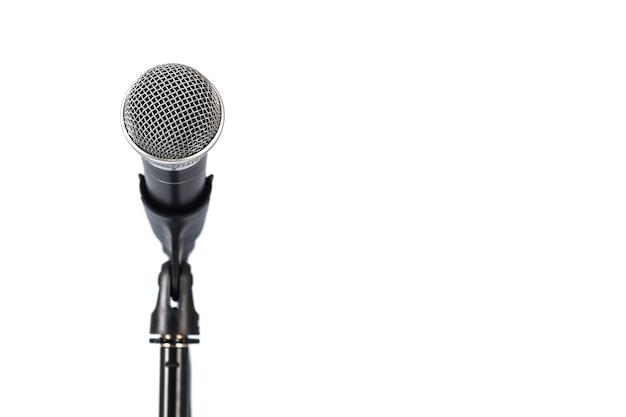 Mikrofon auf dem ständer