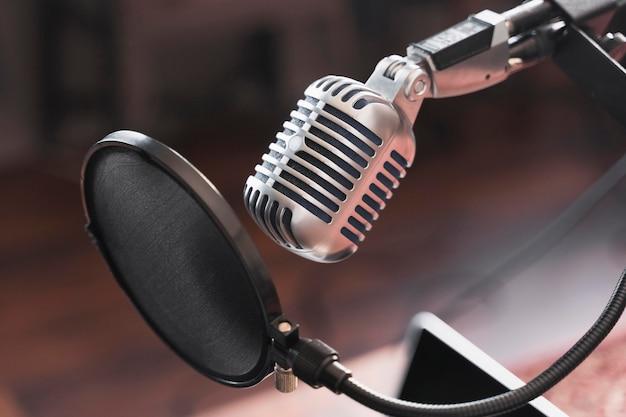 Mikrofon für das interview