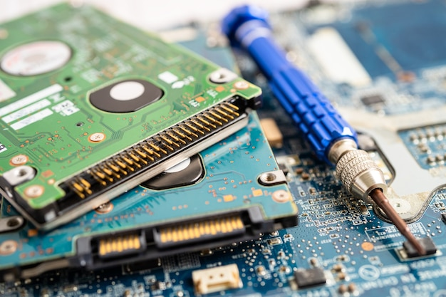 Mikroschaltungs-hauptplatinencomputer elektronische technologiehardware