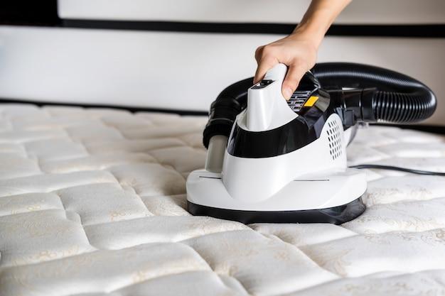 Milbensauger reinigung des matratzenentstaubers