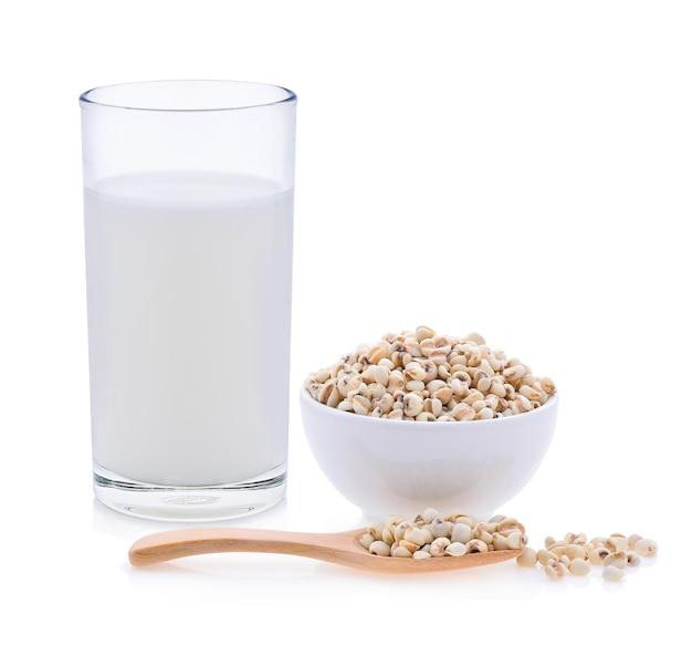 Milch, hirse reismilch