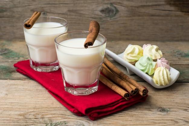 Milch mit zimt