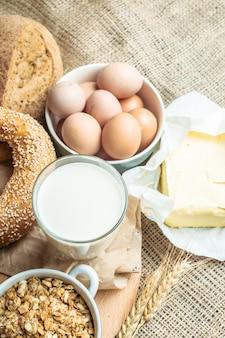 Milch- und backwaren