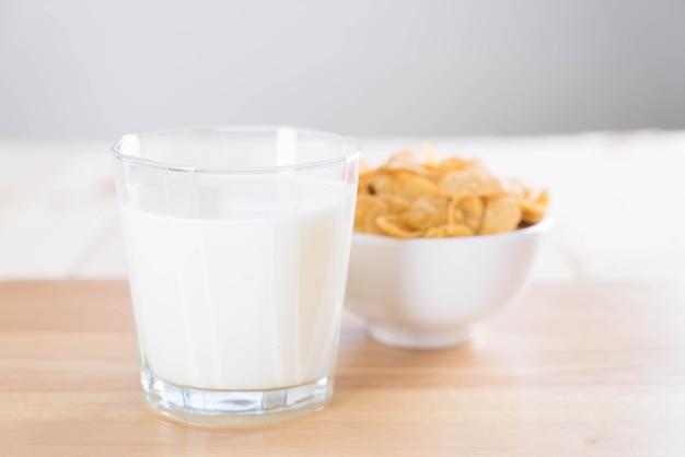 Milch und getreide