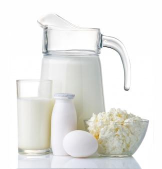 Milch- und proteinproduktkonzept