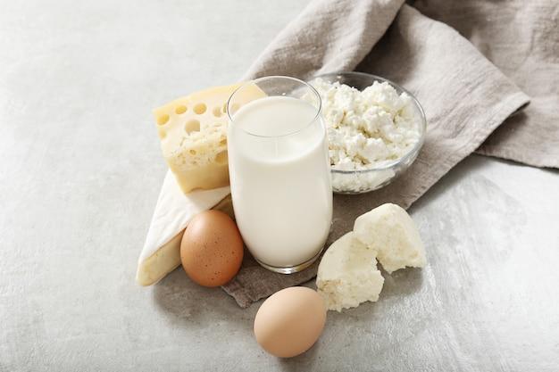 Milchprodukte und eier