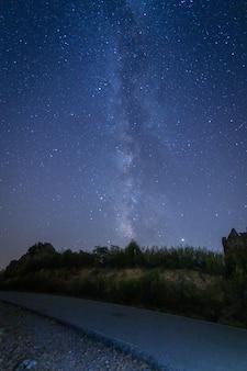 Milchstraße im sommer