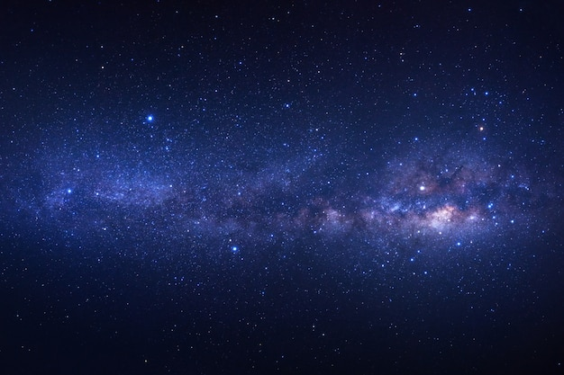 Milchstraße mit sternen und weltraumstaub im universum