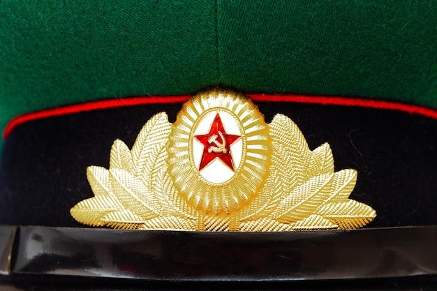 Militärmütze der sowjetischen armee, grenztruppen