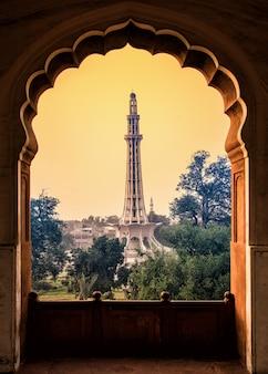 Minar und pakistan abend
