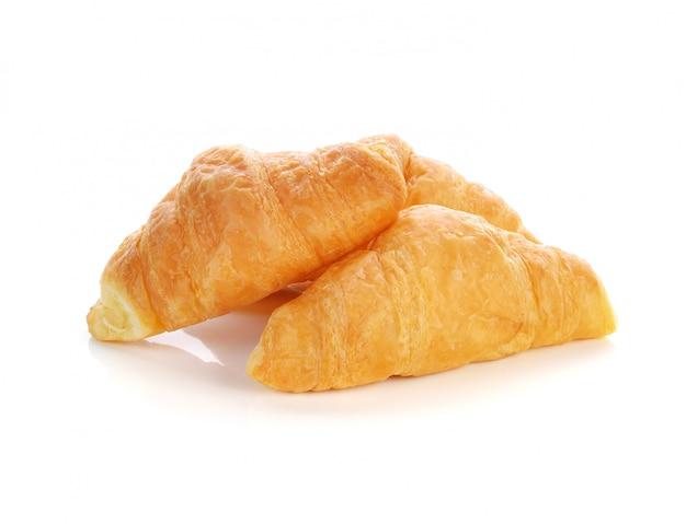 Mini croissant, isoliert auf weiss