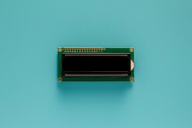 Mini-lcd-anzeige. leiterplatte