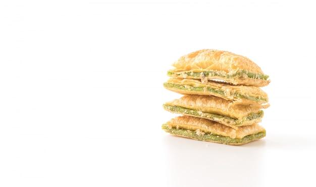 Mini pie keks mit kiwi marmelade