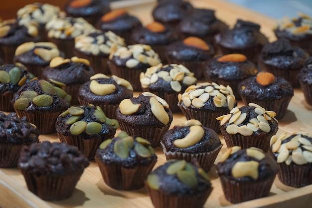 Mini-schokoladen-muffins