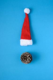 Miniatur-weihnachtsmannmütze