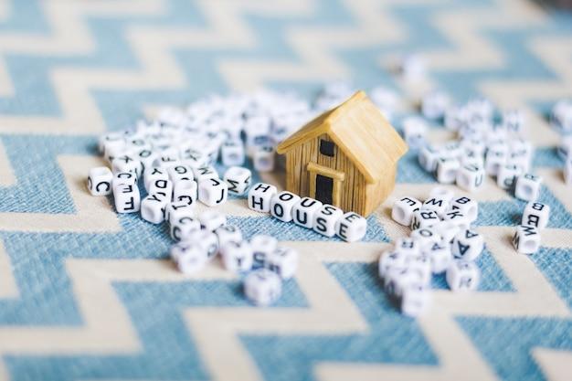Miniaturhausmodell mit