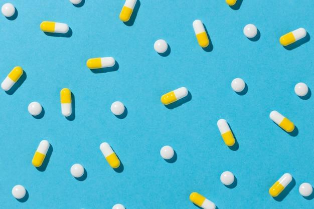 Minimale anordnung der medizinischen pillen