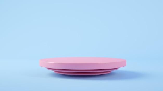 Minimale rosa plattform