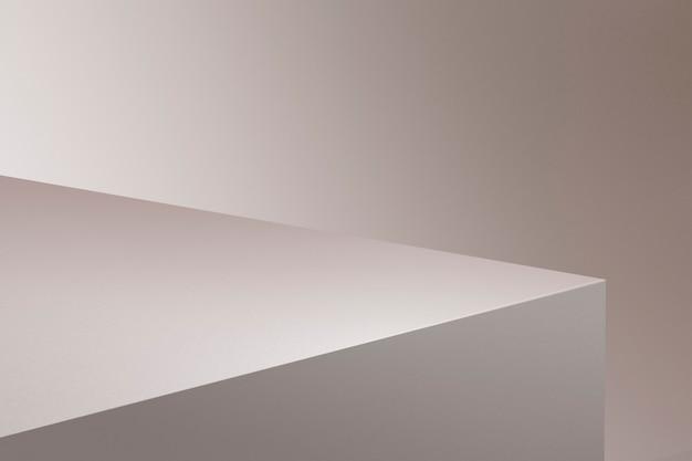 Minimaler produkthintergrund in pink