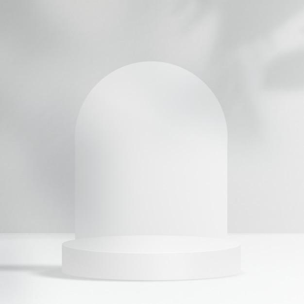 Minimaler produkthintergrund mit designraum