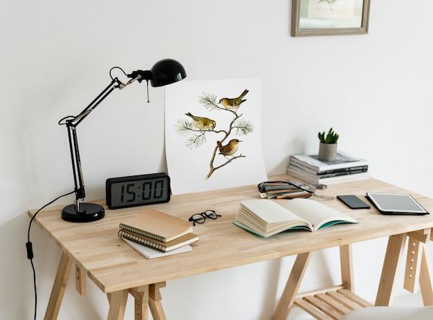 Minimaler stil des arbeitsbereichs