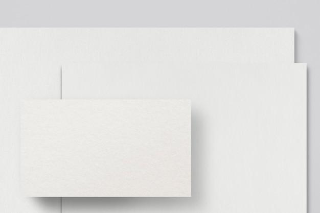 Minimales corporate identity-branding-briefpapier-set