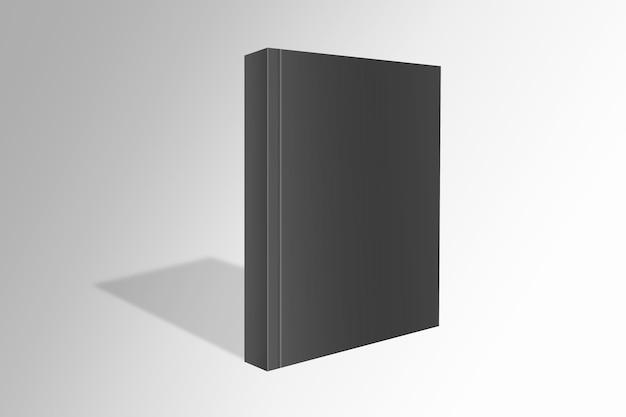 Minimales schwarzes einbandbuch