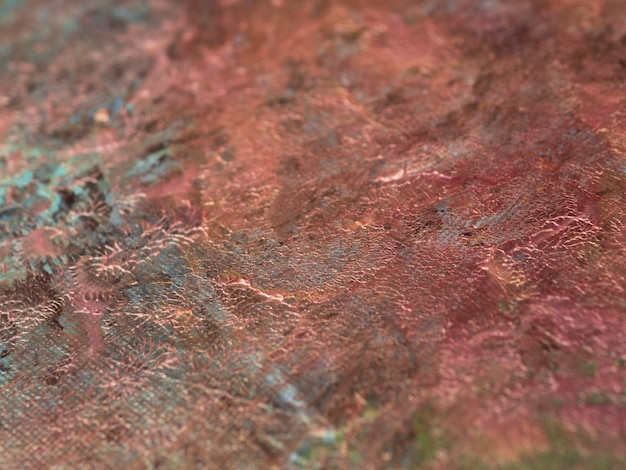Minimalistische acrylfarbe auf leinwand