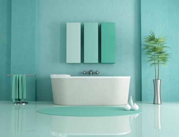 Minimalistisches badezimmer