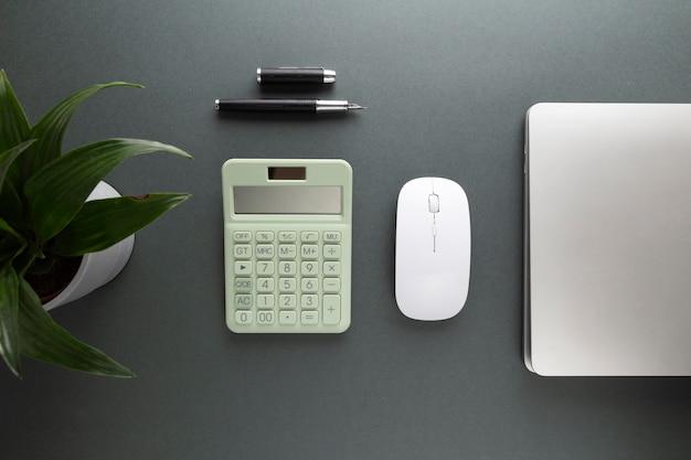Minimalistisches home-desk-design