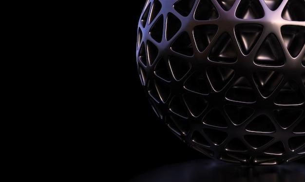 Minimalistisches modernes geometrisches schwarz