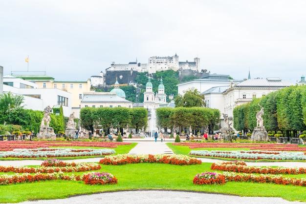 Mirabellgarten in der stadt salzburg