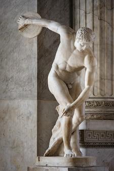 Miron discobolus skulptur
