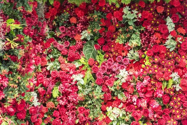 Mischblumenanordnung, bunte gemischte blumenstraußblumen