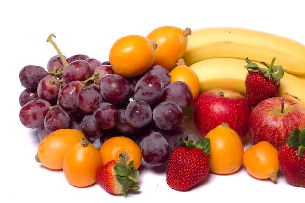 Mischung aus früchten