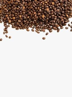 Mischung aus verschiedenen kaffeebohnen kaffee hintergrund