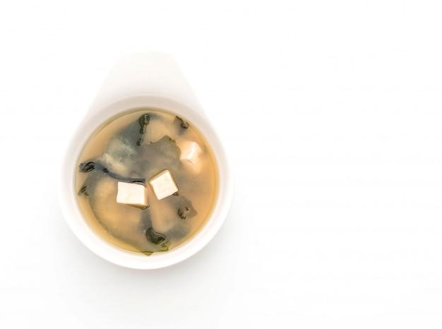 Miso-suppe - japanisches essen