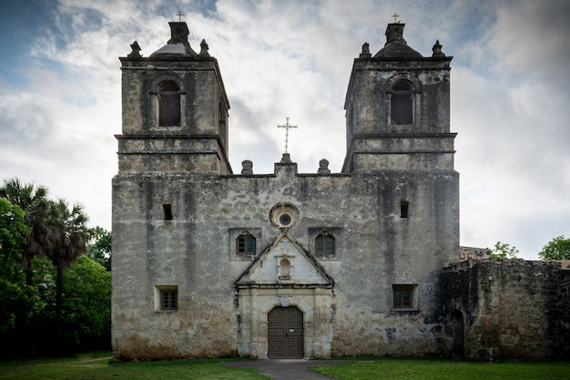Mission concepcion nationalpark in san antonio, texas
