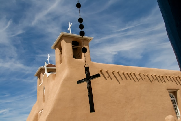 Missionskirche san francisco de asis in new mexico